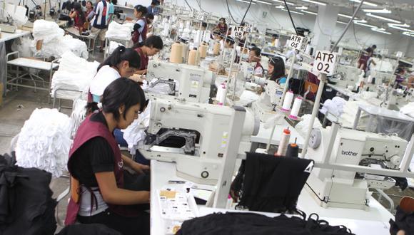 Sube fabricación de prendas. (USI)