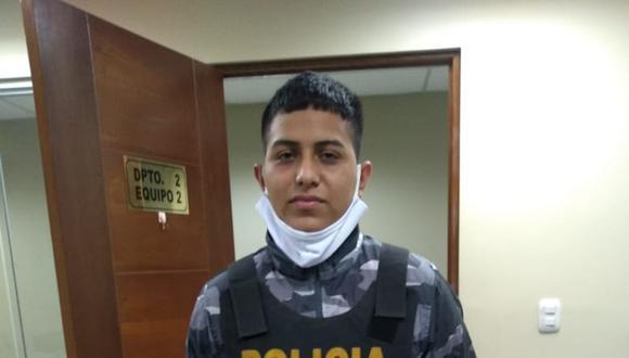 El presunto delincuente juvenil Jonayker Madrid, apodado 'Plomo Plomo'. (PNP)
