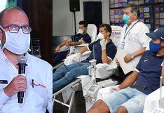 Ministro de Salud, hincha confeso de Universitario, agradeció a Alianza Lima por abrir el estadio de Matute