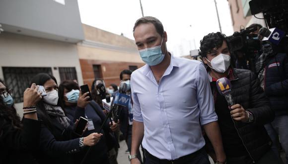 George Forsyth se entrevistó nuevamente con el candidato presidencial por Perú Libre, Pedro Castillo. (Foto: Anthony Niño de Guzmán / GEC)