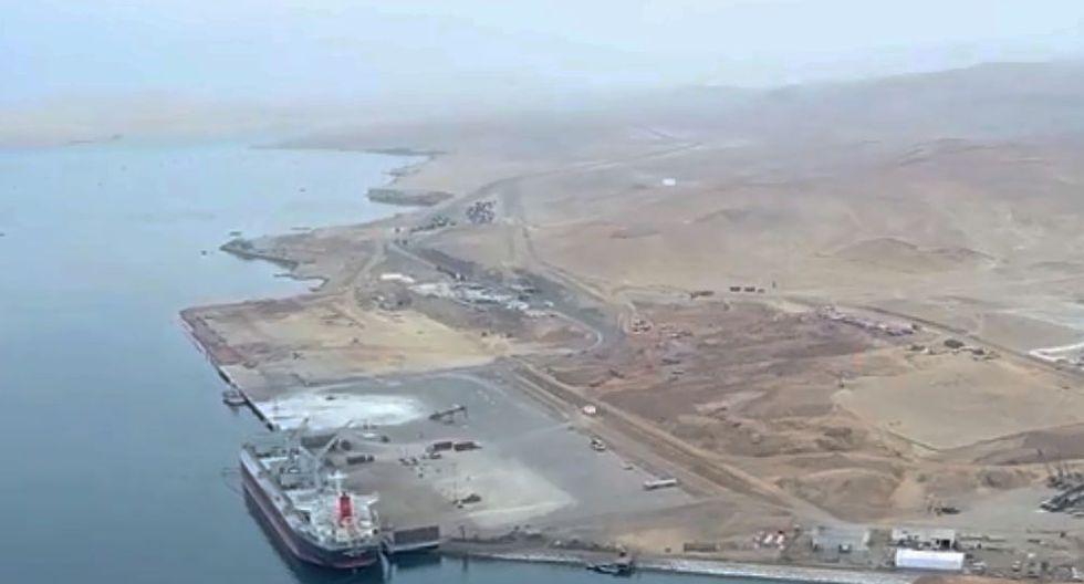 Este año, Senace anuló la resolución que rechaza las modificaciones al EIA del proyecto para modernizar el Puerto General San Martín. Ahora la modificación del EIA está en evaluación. (Captura de video)