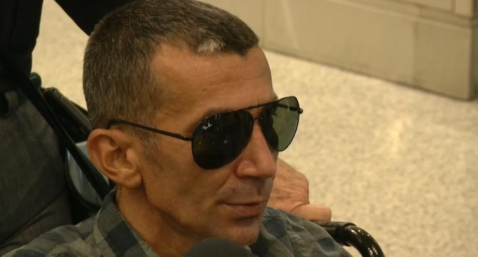 Imagen muestra al opositor cubano Ramón Arboláez en el aeropuerto de Miami, Florida (Estados Unidos), el 10 de octubre. (EFE/Archivo particular).