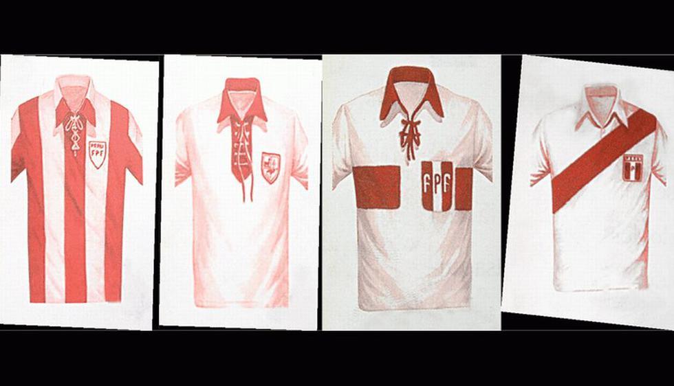 La primera casaquilla nacional fue creado en 1927 para el Sudamericano que se jugó en Lima. (Difusión)