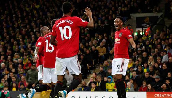 Chelsea vs. Manchester United se enfrentan en la Copa de la Liga de Inglaterra. (Foto: AFP)