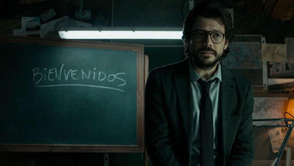 Profesor. (Netflix)