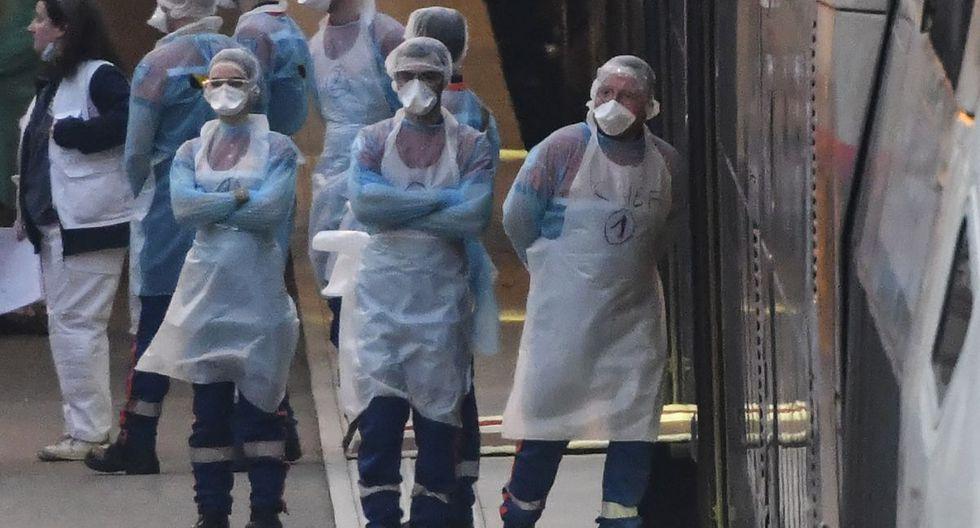 El objetivo de estas operaciones es descongestionar los hospitales de la región este de Francia, donde el sábado había 3.777 personas hospitalizadas, 786 de las cuales con respiración asistida o en cuidados intensivos. (Foto: AFP/Sebastien Bozon)
