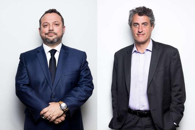 Alberto Delgado y Luis Miranda son socios directores del estudio Miranda & Amado y comparten responsabilidades para liderar el despacho a la vez que siguen atendiendo temas profesionales.