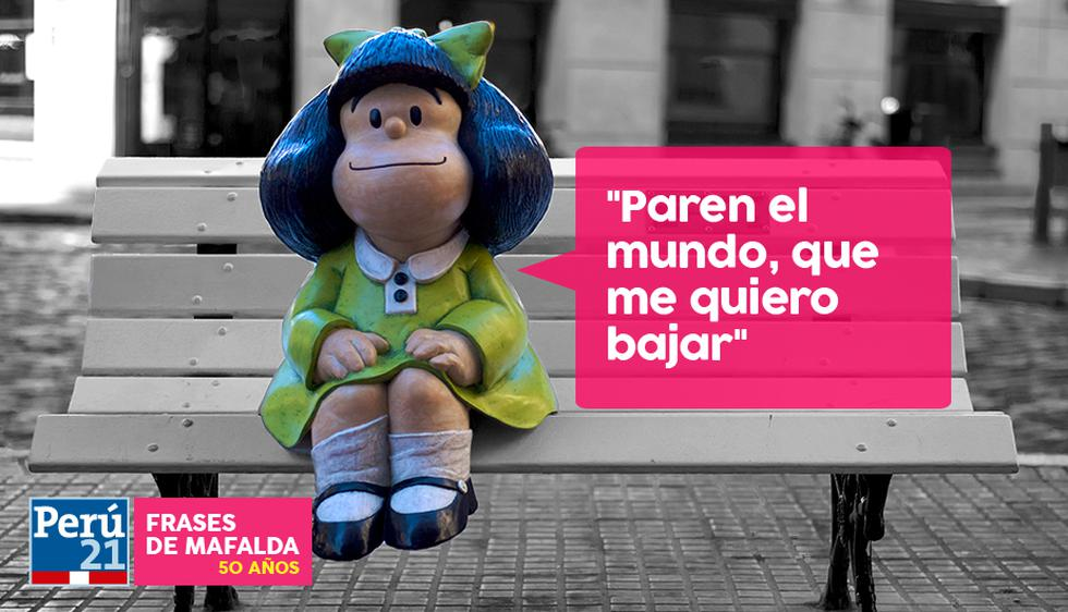 Las mejores frases de Mafalda. (Perú21)