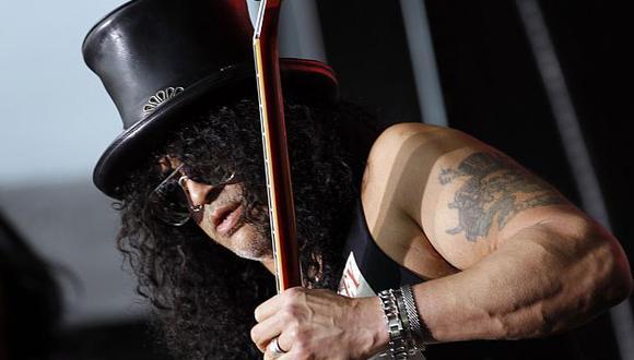Slash se presenta este 9 de marzo en Lima. (Reuters)