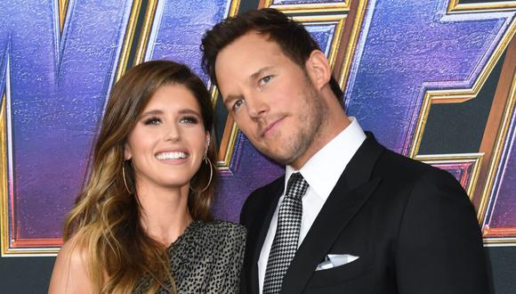 El actor Chris Pratt y la escritora Katherine Schwarzenegger  se conviertieron en padres y dieron la noticia en redes sociales. (Foto de Valerie Macon / AFP)