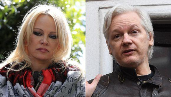 La actriz Pamela Anderson y Julian Assange mantienen un fuerte vínculo amical, según declaró en una entrevista a Fox News, tras ser vista en varias ocasiones en la embajada de Ecuador. (Foto: AP / EFE)<br><br>