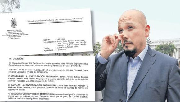 SE COMPLICA. A pedido de la procuradora Julia Príncipe, la Fiscalía incluyó en su investigación a Ilan Heredia, hermano de la primera dama. (César Fajardo)