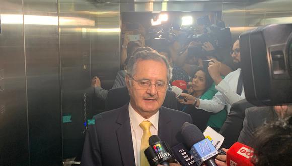 Marco Tulio Falconí es uno de los miembros electos de la JNJ cuestionados por presunto plagio en sus libros. (Foto: GEC)