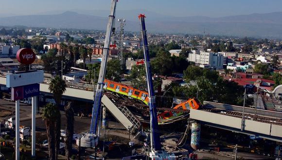 En 2013 comenzaron a salir a la luz fallas en la obra de la Línea 12 del metro y finalmente en marzo 2014 se suspendió el servicio de 11 de las 20 estaciones tras detectar problemas como desniveles. (Foto: EFE/Carlos Ramírez)