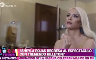 Sheyla Rojas habría cobrado más de cinco mil dólares por protagonizar videoclip, según Santi Lesmes