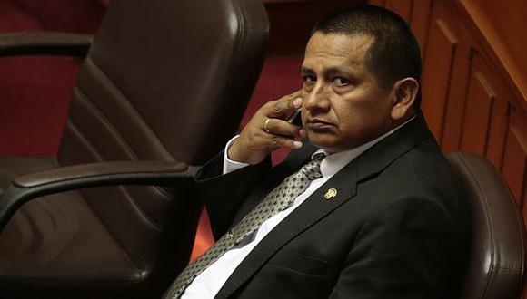 Walter Acha indicó que hay malestar en 5 colegas. (César Fajardo)
