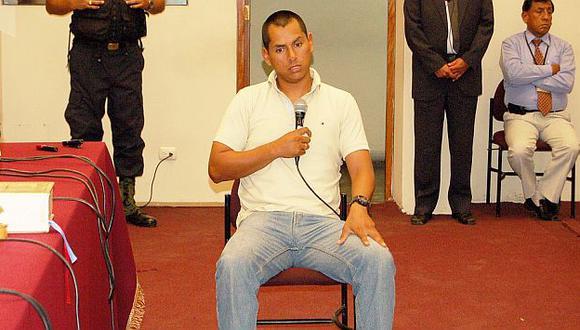 Sebastián Lingán declaró ante tribunal que juzga a terrorista. (Difusión)