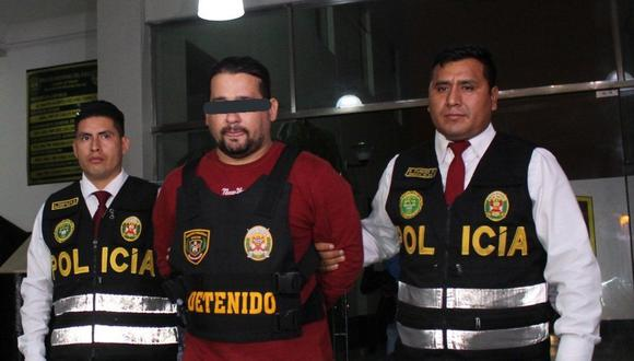 Jonathan Hildebrando Pérez Jiménez fue detenido en el Callao (Foto: PNP)