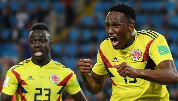 Yerry Mina llegó a Everton procedente de Barcelona. (AFP)
