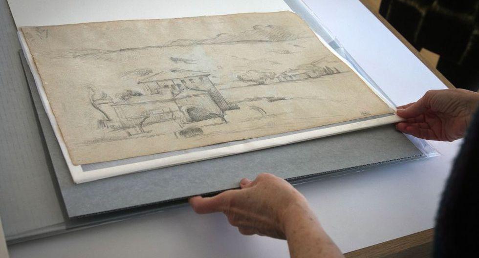 Bocetos se exhibirán entre el 10 de abril y el 18 de mayo. (AP)