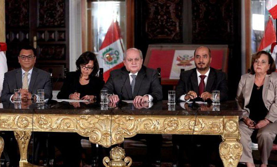 Pedro Cateriano informó que se organizarán debates técnicos sobre el proyecto Tía María. (Perú21)