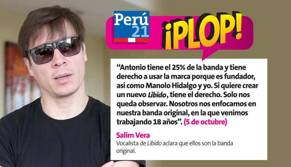 Salim Vera habló sobre Libido, su banda. (Perú21)