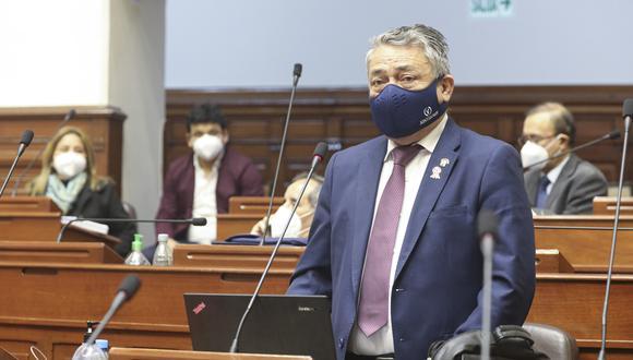 El legislador Rolando Ruiz cuestionó la decisión de Alianza para el Progreso de retirar a su representante de la Comisión Especial. (Foto: Congreso)