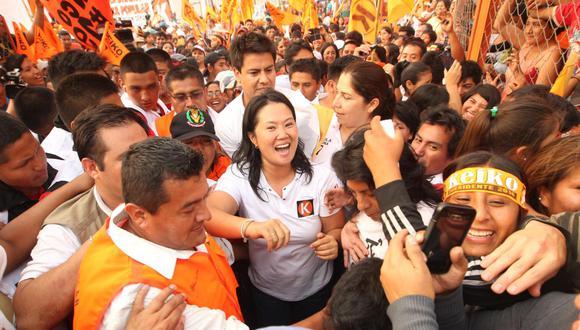 En carrera. Keiko Fujimori tentará por tercera vez la Presidencia de la República. (GEC)