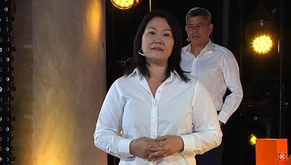 Keiko Fujimori cuenta con el respaldo de su padre en su campaña a la Presidencia de la República (Twitter: Keiko Fujimori)