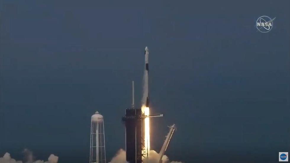 Finalmente la NASA y SpaceX lograron un exitoso lanzamiento desde el Centro Espacial Kennedy, en Cabo Cañaveral, Florida. (NASA)