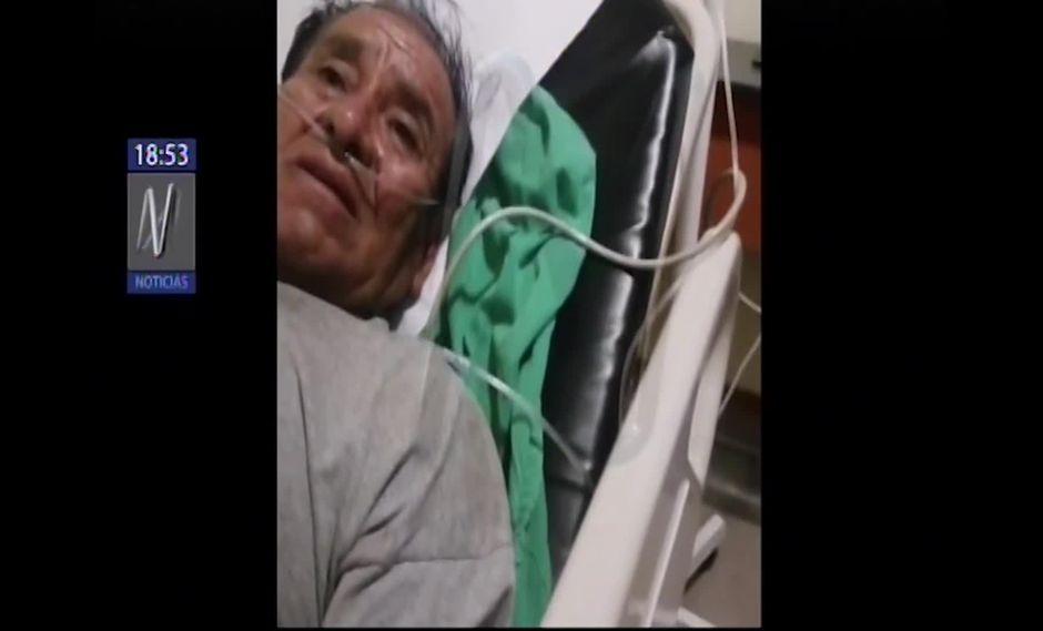 Luis Palomino Guzmán explicó como ocurrió la explosión en Villa El Salvador. (Captura/Canal N)