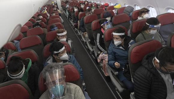 Informe de IATA señala que a nivel mundial solo se han presentado 44 casos de contagio entre más de 36 millones de pasajeros de vuelos aéreos. (Foto: Renzo Salazar/GEC).