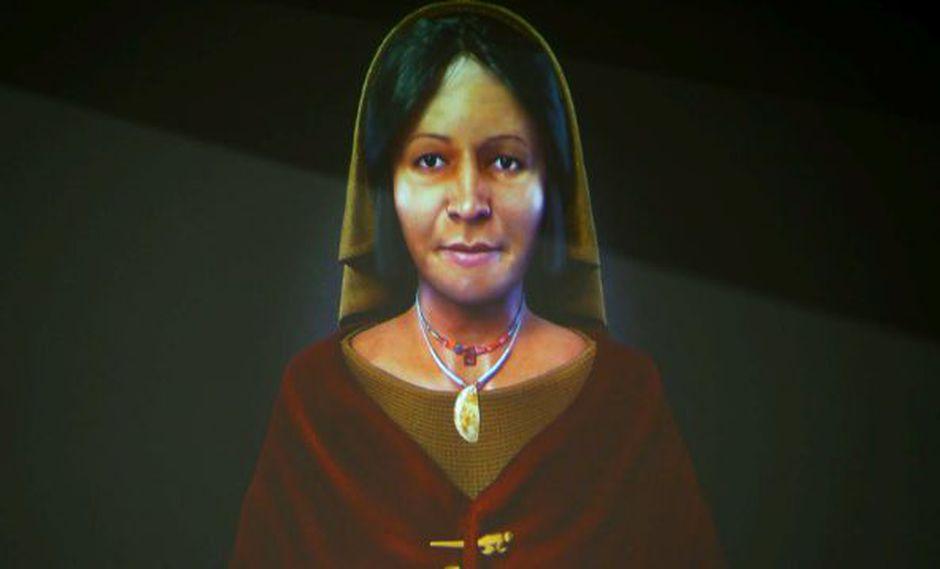Dama de los Cuatro Tupus (Adina)