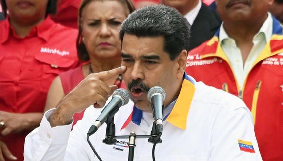 "Maduro acusa a Duque de planear ""actos de provocación"" en frontera colombo-venezolana. (AFP)"