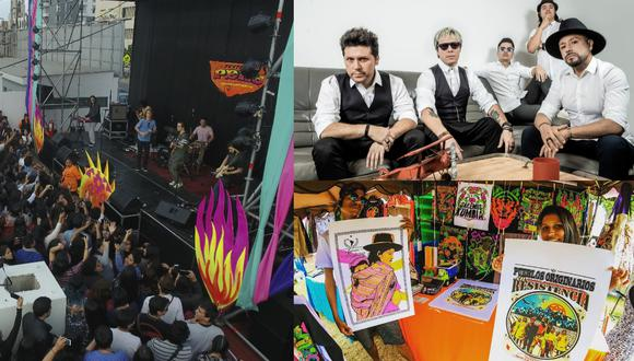 Libido encabeza el cartel del Mega Festival de la Feria Perú Independiente.