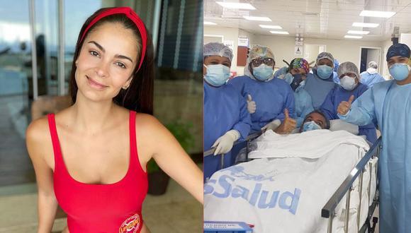 Laura Spoya agradece a médicos que salvaron a su papá que se contagió de COVID-19 y les dedica emotivo mensaje. (Foto: @lauraspoya)