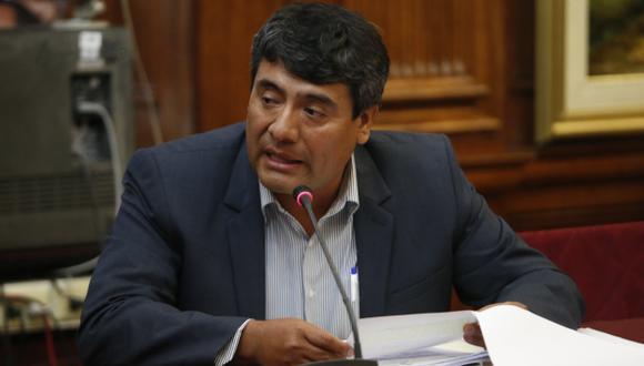 Congreso de la República blinda a legislador Wilder Ruiz. (Roberto Cáceres)