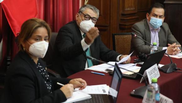 La comisión especial del TC es presidida por Rolando Ruiz (Acción Popular). (Foto: Congreso)