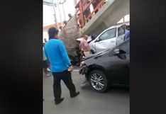 Alerta: Reportan accidente vehicular en Panamericana Sur | VIDEO