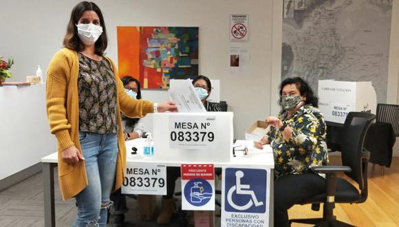 Foto: Peruanos en el extranjero/Cancillería Perú.