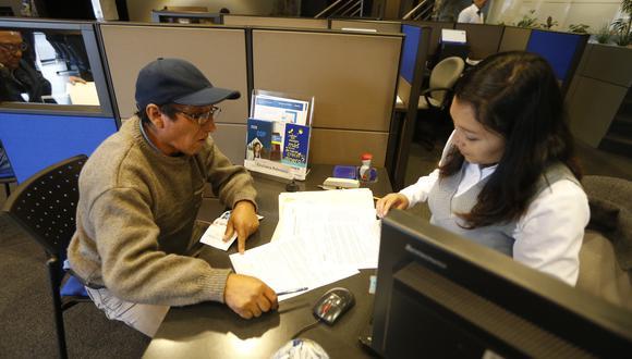 AFP podrán hacer convenios con entidades financieras para que faciliten el pago. (GEC)