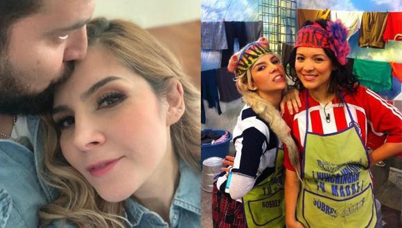 Cibernautas no perdonan a Karla Panini y le recuerdan su traición hacia su compañera Carla Luna. (Composición)