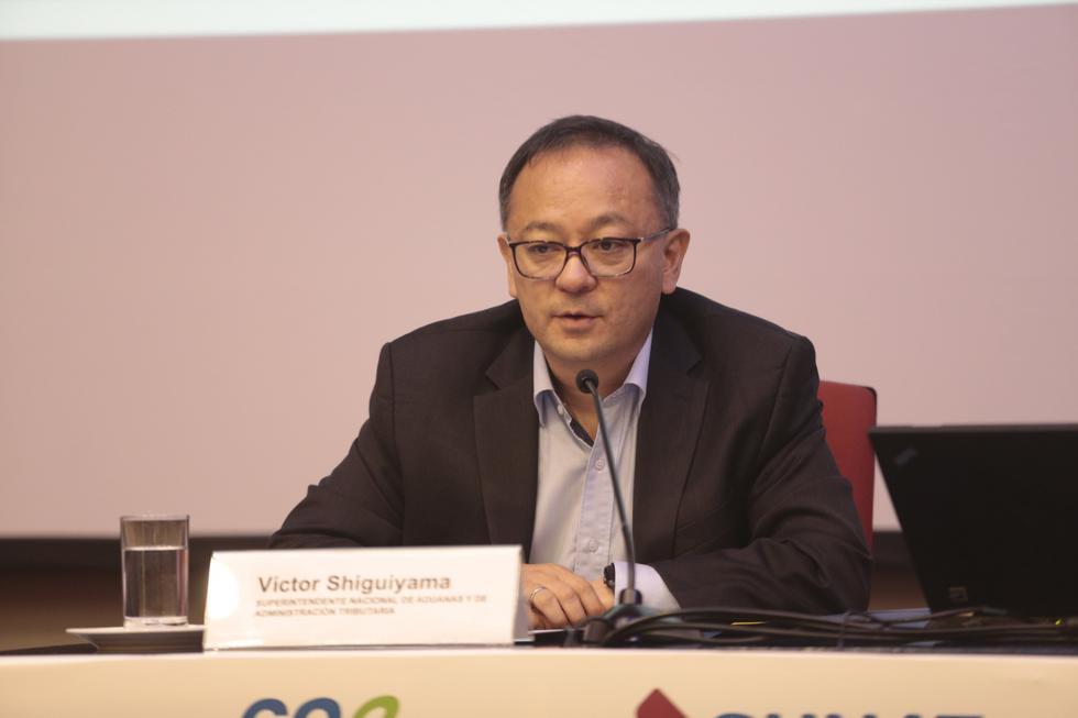 Víctor Shiguiyama renunció a su cargo de jefe de Sunat. (USI)
