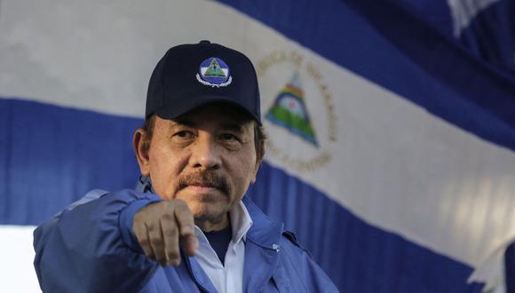 """Tras la detención de candidatos opositores, Estados Unidos calificó al presidente de Nicaragua, Daniel Ortega, como """"dictador"""". (Foto: INTI OCON / AFP)"""