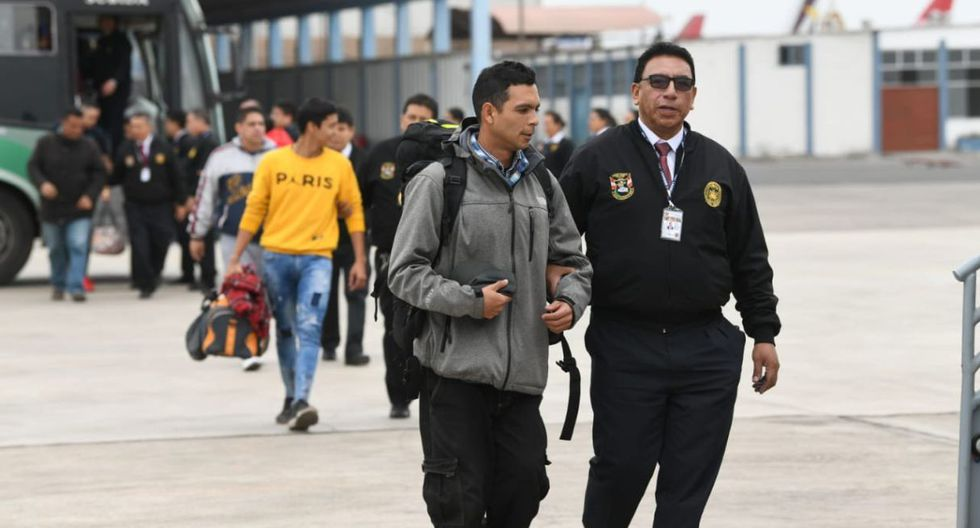 Meses atrás ya fueron expulsados decenas de venezolanos por cometer delitos. (Mininter)