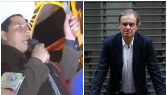 Pedro Castillo lanzó amenaza al exministro Carlos Basombrio (Captura/GEC).