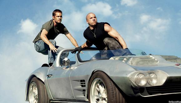 """¿Qué tan rápido han corrido los protagonistas de """"Rápidos y Furiosos""""? (Foto: Universal Pictures)"""