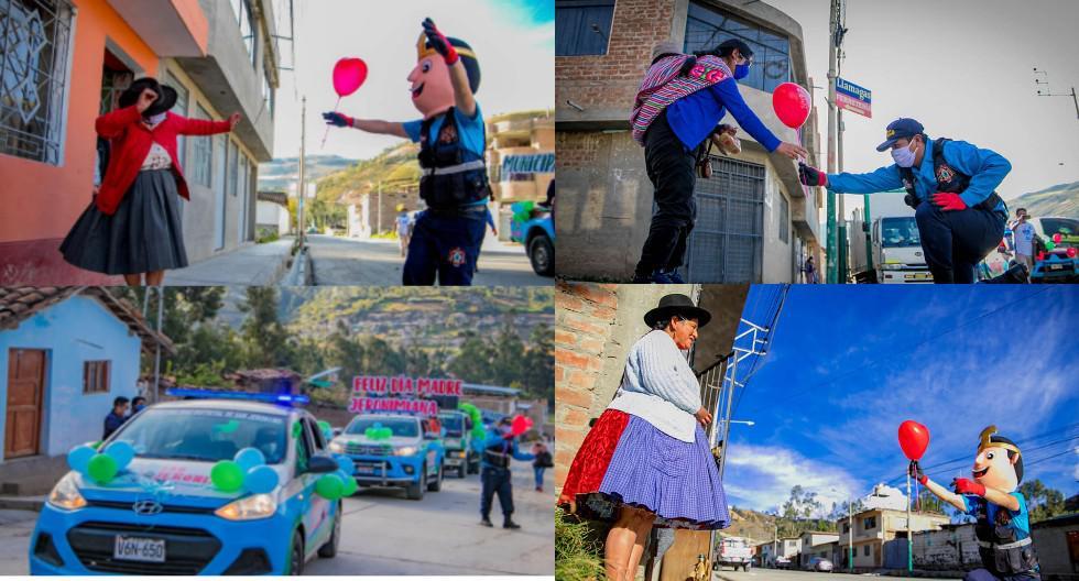 Apurímac: Serenos bailaron con mamitas por el Día de la Madre. (Foto: Municipalidad de San Jerónimo)