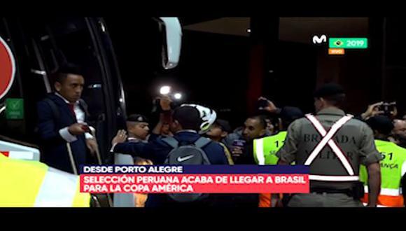 Perú chocará con Venezuela en su debut en la Copa América 2019. (Captura: Movistar Deportes)