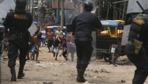 DÍAS CLAVES. Autoridades loretanas apelan a la responsabilidad para evitar actos de violencia. (USI)
